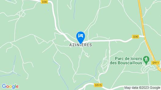 Les Caselles  Map