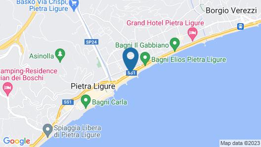 Hotel Bacco Map