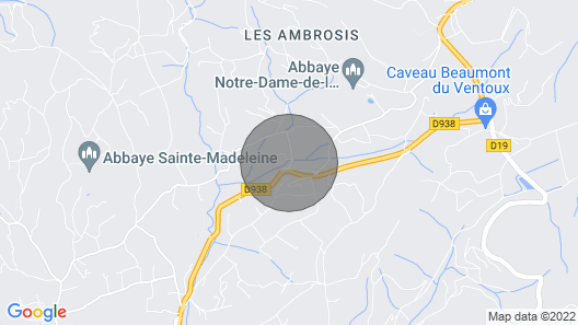 2 Bedroom Accommodation in Le Barroux Map