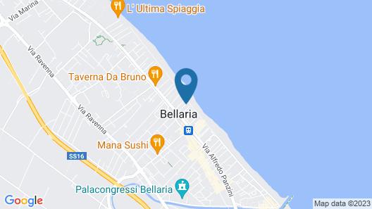 Hotel Elizabeth Map