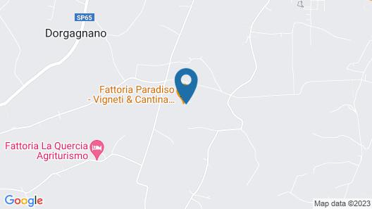 Fattoria Paradiso Map