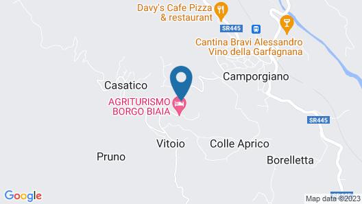 Agriturismo Borgo Biaia Map