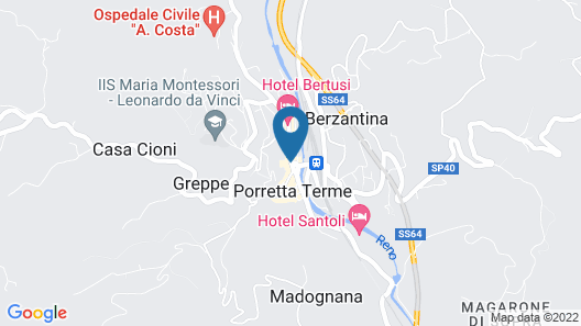 Hotel Helvetia Thermal Spa Map