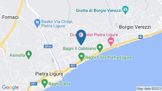 Residence Il Borgo degli Ulivi Resort Map