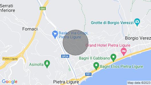 Residence Morelli, Pietra Ligure Map