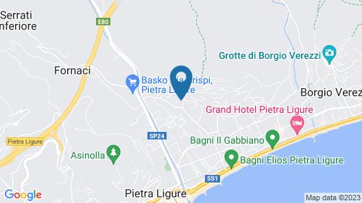 Residence I Morelli Map