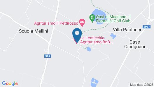 Agriturismo La Lenticchia Map