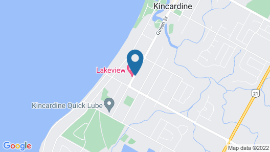 Kincardine Guest Cottage Motel Map