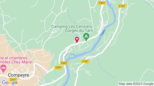 Les Fréjals Map