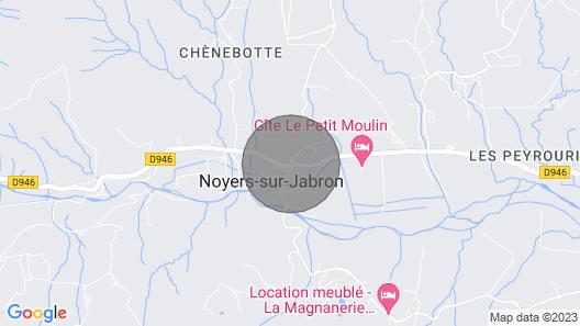 The Bastidon L'escapade Map