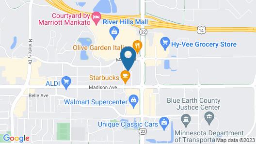Fairfield Inn & Suites Mankato Map