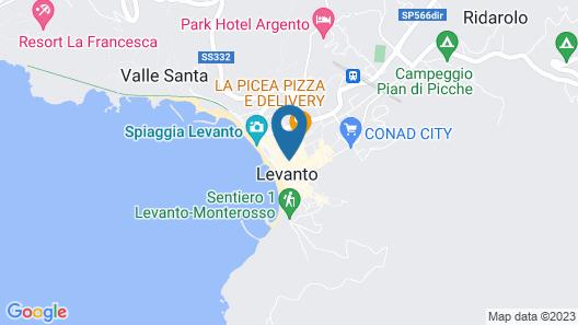 Villino a 20 Metri dal Mare Map