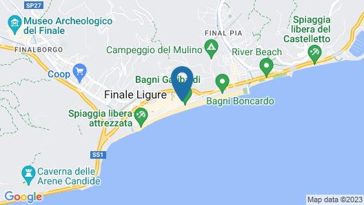 San Pietro Palace Hotel Map