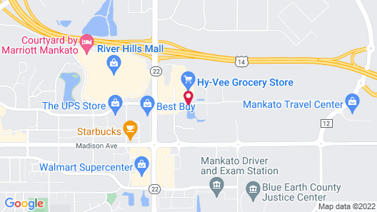 Holiday Inn Express Hotel and Suites Mankato East, an IHG Hotel Map