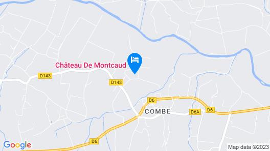 Chateau De Montcaud Map