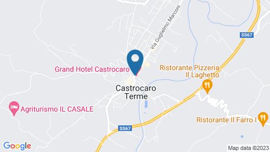 Grand Hotel Castrocaro Longlife Formula Map