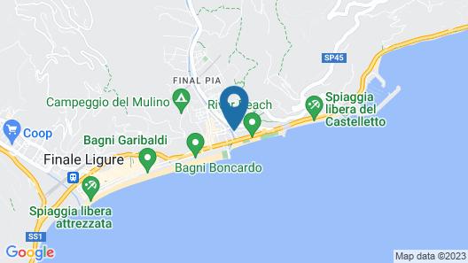 Hotel Corallo Map