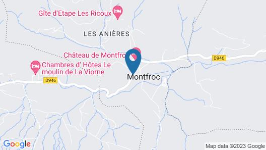 Château & Spa de Montfroc Map