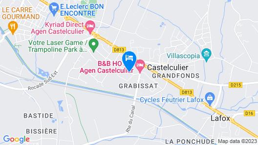AKENA City Agen Castelculier Map
