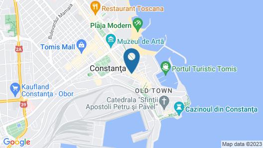 Peninsula Boutique Hotel Map