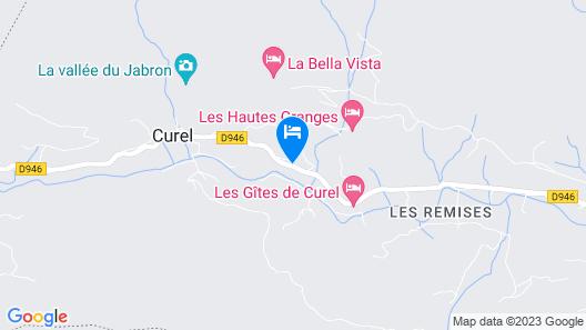 Gîte Le Jabron Map