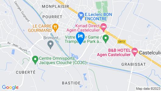 Chateau Saint Marcel Map