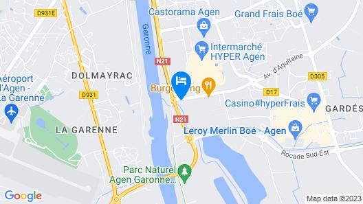 Hotel Restaurant du Lac Map