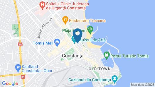 Hotel Carol Constanta Map