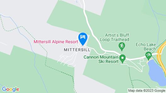 Mittersill Alpine Resort Map