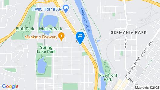 Norwood Inn & Suites Mankato Map