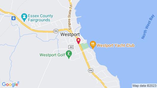The Inn in Westport Map