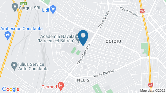 Lira Pacific Aparthotel Map