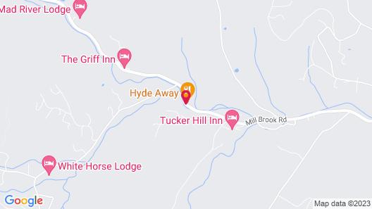 Hyde Away Inn Map