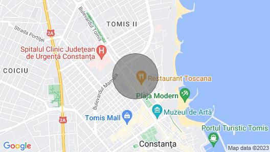 Apartament Near The Modern Beach Map