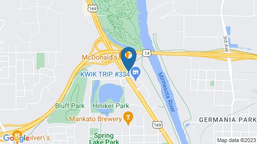 Riverside Suites Map