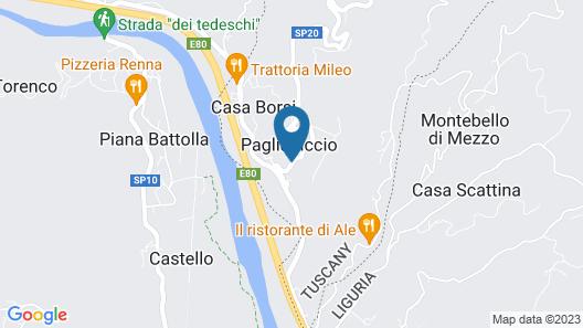 Albergo Ristorante La Greppia Map