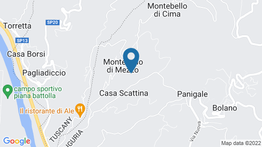 Residence Monte Bello Map
