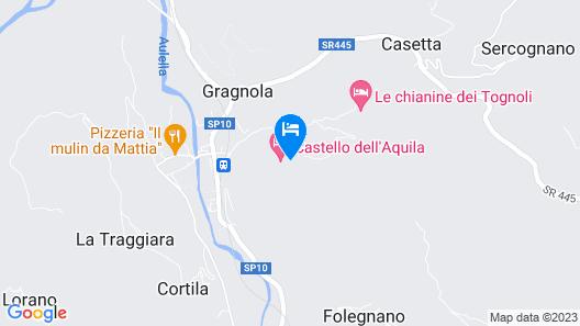 Castello dell'Aquila Map