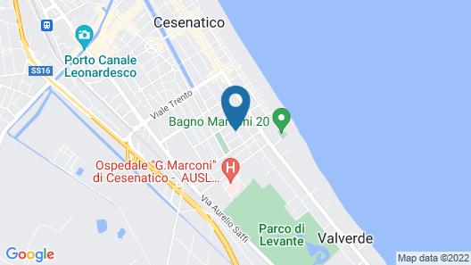 Hotel Jole Map