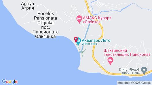 Hotel Kavkaz Map