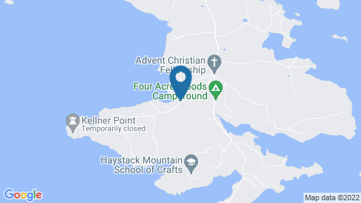 Deep Cove - Two Bedroom Home Map