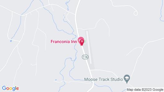 The Franconia Inn Map