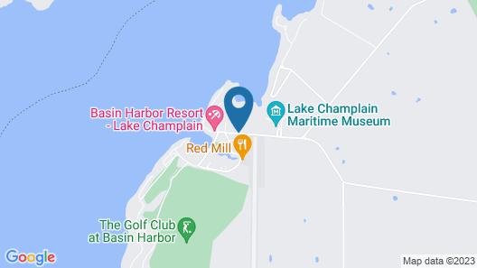 Basin Harbor Map