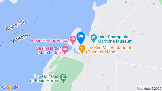 Basin Harbor Map