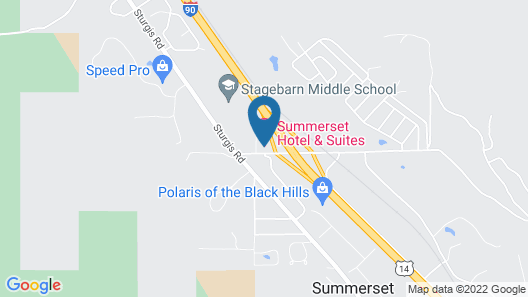 Summerset Hotel & Suites Map