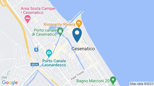 Hotel Antonia Map