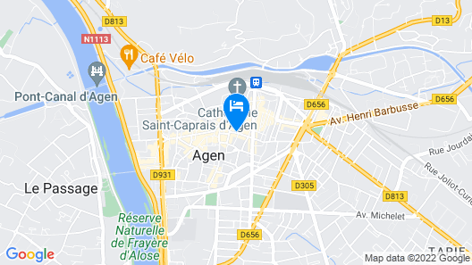 Appart'City Agen Map
