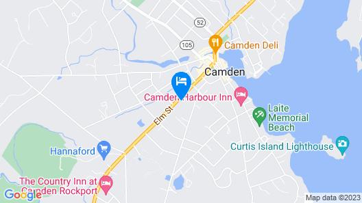 The Captain Swift Inn Map