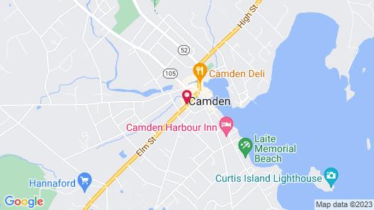 Hartstone Inn & Hideaway Map