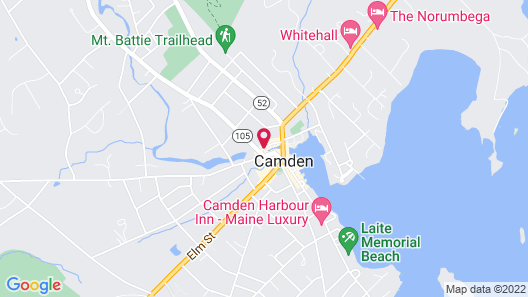 The Inn at Camden Place Map